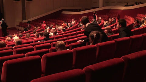 The audience in the cinema Stock Video Footage