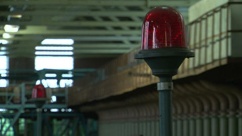 The Flashing Red Lantern stock footage