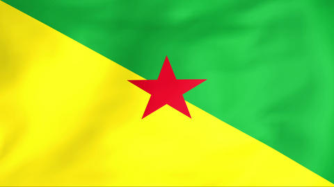 Flag Of Guyane Animation