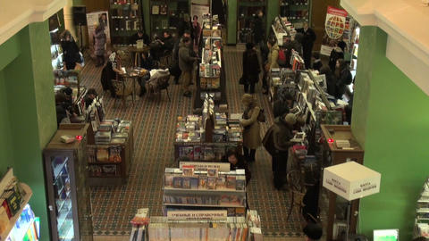 book shop Stock Video Footage