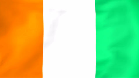Flag Of Cote d'ivoire Animation