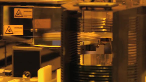 A look at innovative semiconductor manufacturing Footage