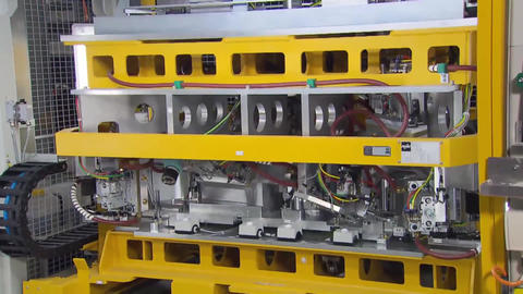Automotive Manufacturing Plant Assembly Line1 Footage