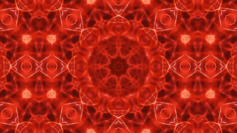 Abstract Kaleidoscope Background Seamless Looping Stock Video Footage