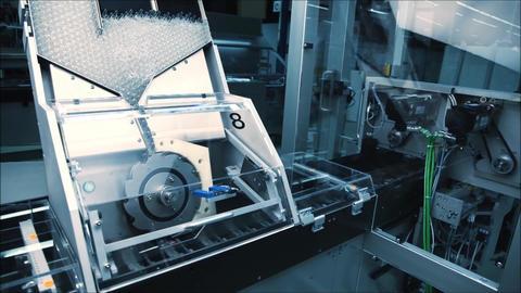 pharmaceutical bottle production plant2 Footage