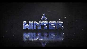 Winter Logo After Effects Template