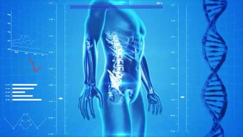 Analysis of human body Footage