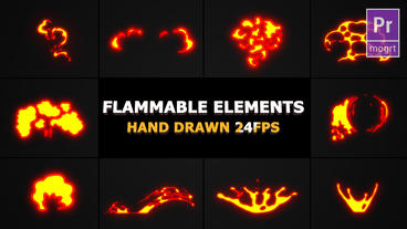 Flammable FX Elements Motion Graphics Template