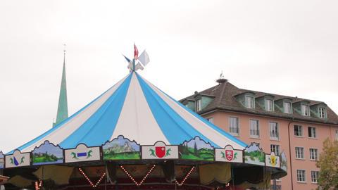 Carousel Merry-Go-Round Rotates GIF