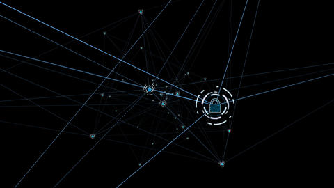 Technology security concept5 Animation