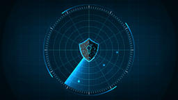 Technology security concept12 Animation