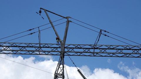 Electric line clouds 영상물