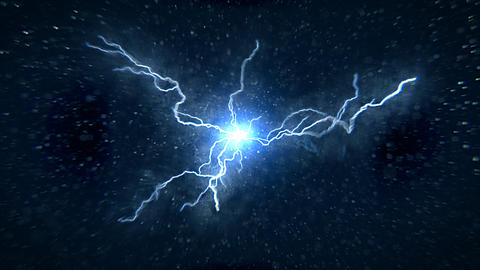 Particle Lightning Animation