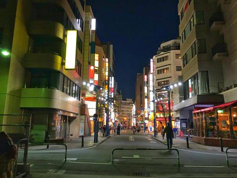 Ikebukuro East side Night view Photo