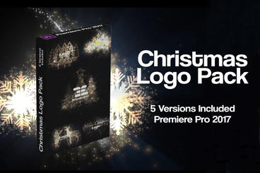Christmas Logo Pack Premiere Pro Template