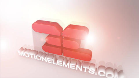 Clean 3D Logo After Effects Template