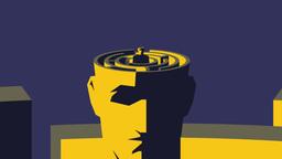 Brain Maze Animation