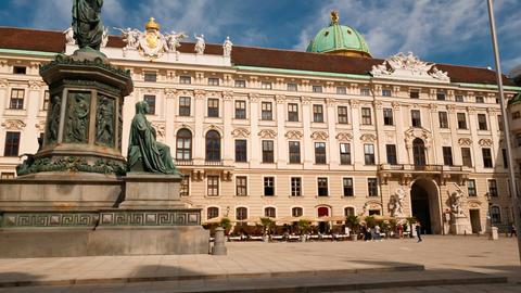 Hofburg Palace, Vienna, Austria Footage