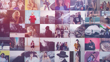 Photo Grid Revealer After Effects Template