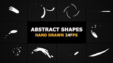 Abstract Shape Elements After Effects Template