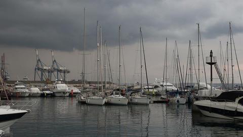 Larnaca marina Footage