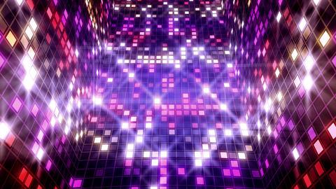 Blinking Lights Pathways Animation