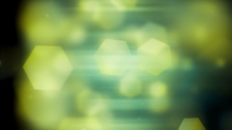 Soft Light Hexagon Shapes Animation