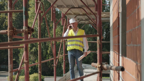 11 Workers In Construction Site GIF