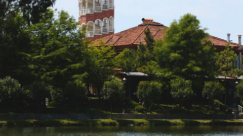 Tower restaurant in Batumi, Georgian brewery, culinary tourist attraction Live Action