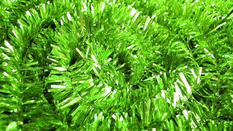 Christmas tree garland xmas ornaments green Footage
