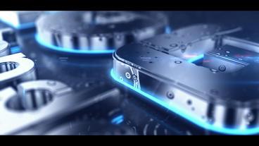 Rain 3D Logo After Effects Template