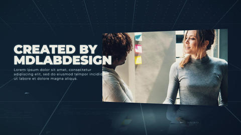 Corporate Modern Slideshow After Effects Template
