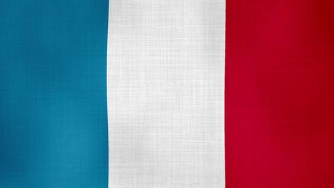 Flag France 01 Footage