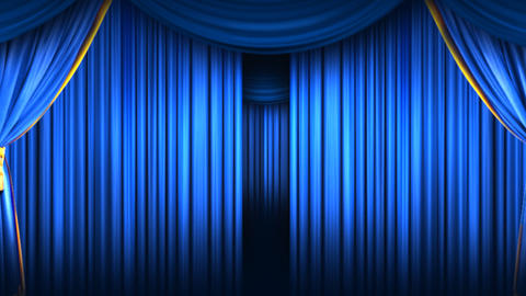 Closing Curtain Footage