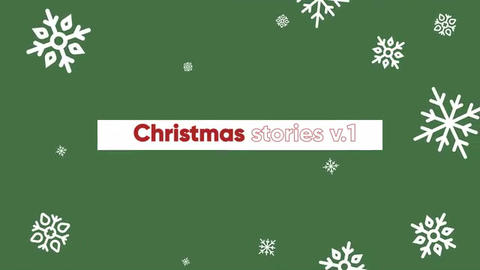 Christmas stories v.1 After Effects Template