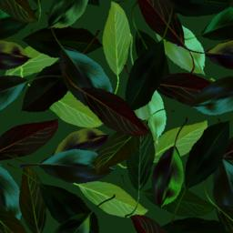 Green leaves seamless pattern Vector Vector