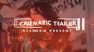 Glitch Trailer Plantilla de After Effects