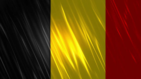 Belgium Flag Loopable Background Animation