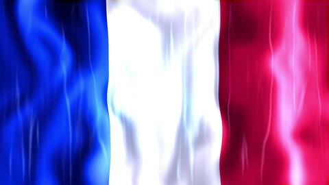 France Flag Animation