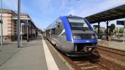 French regional train, France Footage