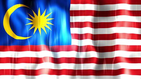 Malaysia Flag Animation