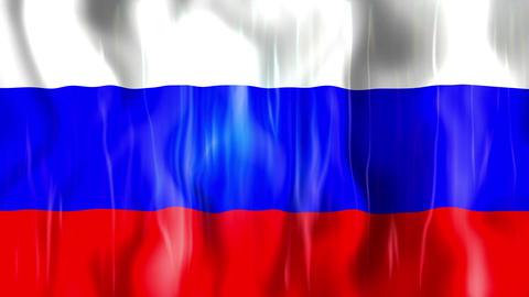 Russia Flag Animation