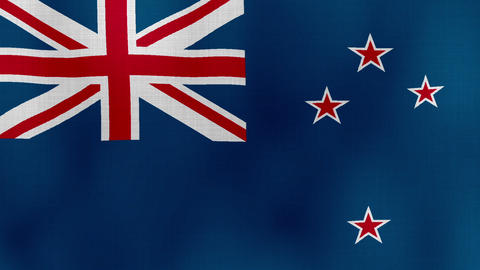 Flag New Zealand 01 ビデオ