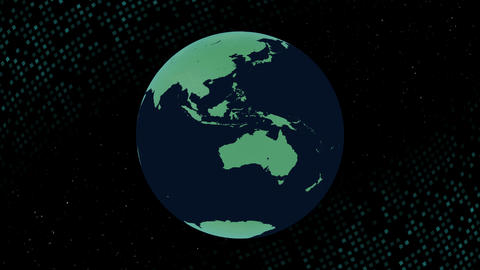 Earth CG 18 E3B 4k CG動画