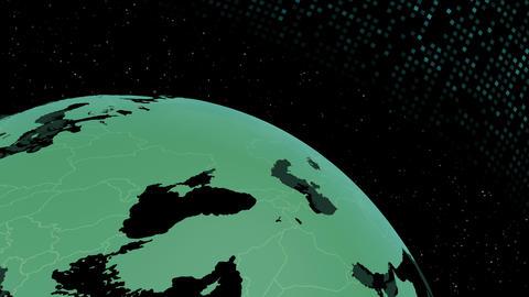 Earth CG 18 F1D 4k CG動画