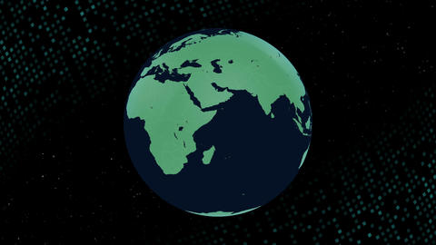 Earth CG 18 E2B 4k CG動画