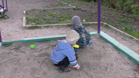 children in the sandbox Live Action