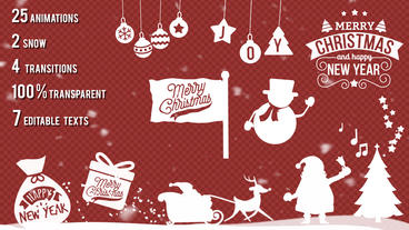 Christmas Kit After Effects Template