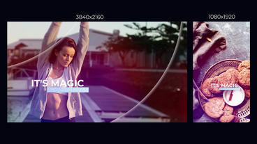 Trendy Dynamic Opener Slideshow Premiere Pro Template