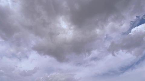 Clouds Movement Advance Stock Video Footage